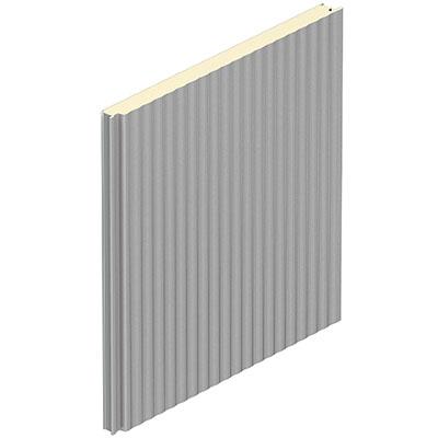 Sendvičový stěnový panel s profilací W