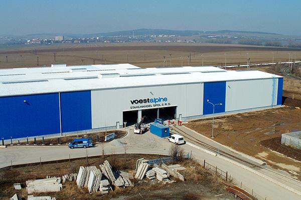 Skladová hala voestalpine Stahlhandel Vyškov